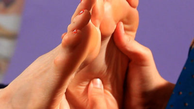 Foot reflexology can help alleviate your blood pressure